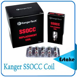 Kanger SSOCC Coil Head clone 0.15ohm Ni200 0.5ohm 1.2ohm Kathal Wire Coil fit Subtank Series Toptank Nano 0266054
