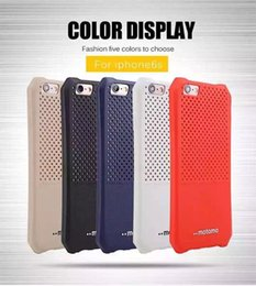 motomo Ultra-thin tpu case colorful heat dissipation hole in body for iphone6 6s 6 6s plus 4.7 5.5