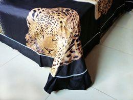 Wholesale Lion King Sheets Full - 15 kinds of styles 3D Lion Print Bedding Sets Tiger Print Bed Sheets Set Tiger Bedding Leopard Cheetah Print Bedding Set Full