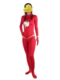 Free shipping cartoon clothing foreign trade red spandex Lycra Zentai sexy Halloween costume dress performance stage props