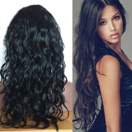Best Long Full Lace Human Hair Wigs Brazilian Body Wave Glueless Human Hair Lace Front Wig with Baby Hair