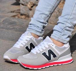 Wholesale new Autumn Unisex Zapatos New Casual Balanced men women Dropship Fashion shoes Size Multi Color