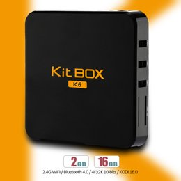 Wholesale Android Kit TV Box RK3229 Quad Core Cortex A7 Wifi M Ethernet Cable Set Top Box KODI Fully Loaded R Box Plus Media Player