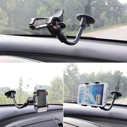Hight Quality Car Mount Holder 360 Rotation Windshield Bracket for GPS Mobile Phone Wholesale With Retail Box