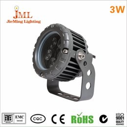 Wholesale-NEW AC85-265V 3W Waterproof LED Floodlights Wash Wall Flood Light Spotlight Garden Outdoor Lighting Square Lamp Bulb Cold White