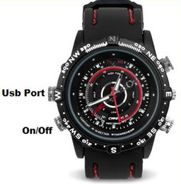 16GB de memoria incorporado Hot-venta impermeable Sport Watch cámara de la cámara 640 * 480 cámara digital del reloj Cheap Spy Cam espía Gadgets Spy Watch hot selling spy camera on sale desde cámara espía venta caliente proveedores