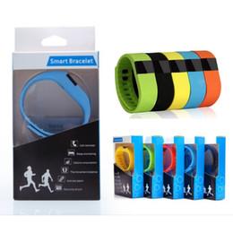 2016 activité smartband tracker FITBIT TW64 bracelet Smart Band Fitness Activity Tracker Bluetooth 4.0 Bracelet Sport Smartband pour IOS Android Téléphone cellulaire boîte cadeau activité smartband tracker offres