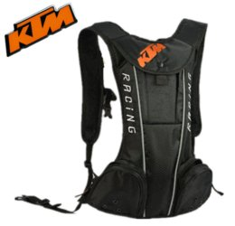 Wholesale Fit for KTM Motorcycle bag Motocross cycling backpack Multifunction travel bag With Insulated water bag