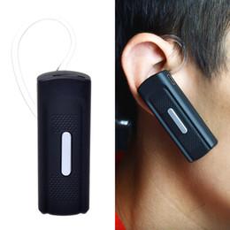 HD 720P Min cámara Bluetooth auriculares auriculares espía oculta cámara de vídeo y grabador de audio de apoyo micro tarjeta SD Mini DVR desde bluetooth auriculares cámara espía proveedores