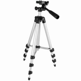 Descuento soportes de cámaras digitales Rushed Profesional Universal Flexible Telescópico 4 Secciones Trípode de Pies de Aluminio para Dslr Slr Digital Camera Camcorder Tripode Stand
