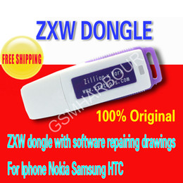 Wholesale 100 original Zillion x Work ZXW dongle with software repairing drawings For Iphone Nokia Samsung HTC and so