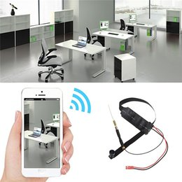 Wholesale WIFI P HD MP DIY Module Spy Camera Motion Detection Wide Angle Hidden Wireless Security Cam Support APP Remote Monitoring