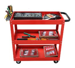 Wholesale NS111617 Heavy Duty Tool Cabinet Easy Type and Hand Push Type With Wheels