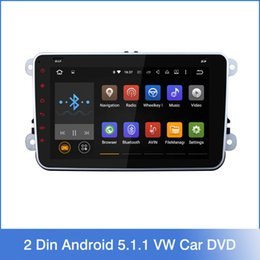 Wholesale Quad Core Din Android VW Car DVD GPS Navi GOLF Polo Bora JETTA PASSAT Tiguan