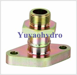 Wholesale 2016 Direct Selling Limited Forged Welding Multimetro Weld Flange Blank Adapter with O ring Unf Thread Connection And Hydraulic Fittings