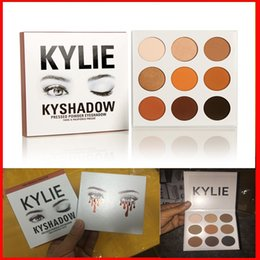 Wholesale hot sell Kylie jenner eyeshadow kit Kyshadow brand makeup matte Cosmetics Palette Bronze Preorder eye shadow color in stock