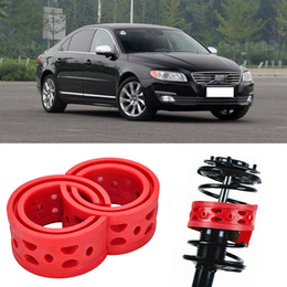 2pcs Super Power Rear Car Auto Shock Absorber Spring Bumper Power Cushion Buffer Special For Volvo S80L