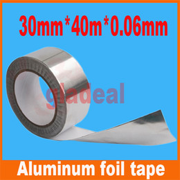 Wholesale mm m mm Industry BGA Aluminum Foil Tape Adhesive Heat Conduction Shielding Cellphone LCD Computer electric Repair