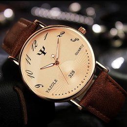 Casual Business Mens Watch Fashion Rose Gold Lovers Luminous Hands Leather Band Man Casual Watch Analog Quartz Sport Watch for Mens