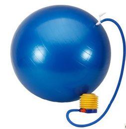 Wholesale-QG02193 Fitness Exercise Fit Yoga Core Ball 65CM Abdominal Back leg Workout Sport Yoga Fitness Ball Balls Exercises Gymnastic