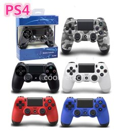 Wholesale Top quality PlayStation4 Wireless Bluetooth Game DUALSHOCK Controller Gamepad for pc Game Controller