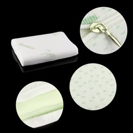 Wholesale Baby Children Bamboo Pillow Slow Rebound Memory Foam Pillow Health Care Memory Foam Pillow Bamboo Fiber Pillow Top Good