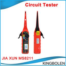 Wholesale Top JIA XUN MS8211 Automotive circuit tester Digital Multimeter Voltage resistance diode buzzer testing tool etc Function