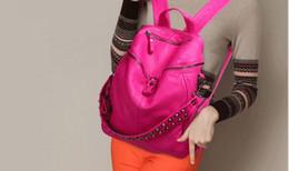 Wholesale Tigernu Authentic Backpack Fashion Men Women Knapsack Korean Stylish Shoulder Bag Brand Designer Bag High end PU School Bag a75