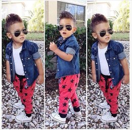 Wholesale Boys England Style Gentleman Sets Outfits Children winter Jackets Shirt Trousers Set Kids Clothing Baby Boy Child Suit T