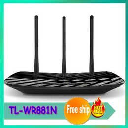 Wholesale Wireless Router TL WR881N Roteador Wireless Mbs Wi fi Antenna Roteador Adsl Networking Wifi Router
