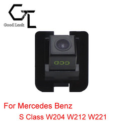 Wholesale For Mercedes Benz S Class W204 W212 W221 Reserved hole Wireless Car Auto Reverse Backup CCD HD Night Vision Rear View Camera