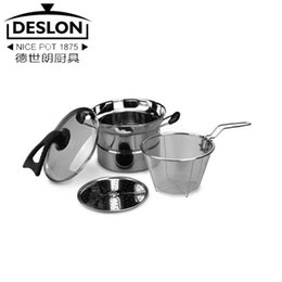 Wholesale-0 Multi-purpose pot stainless steel pot cooking pot soup pot and pans steamer multifunctional cooker e-t001