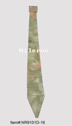 Wholesale new brand light green ceramic tile finish bamboo wood neck tie