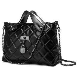 Chain bag women s handbag à vendre-Kohthai Femmes Messenger Sacs en cuir matelassé Femmes Sac Chain Sac à main Marque bandoulière Crossbody Sacs à main Women Bag Lady FB075