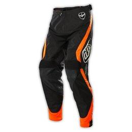 HOT SALE 2016 SE PANTS BLACK FLURO ORANGE MX GEAR BMX MOTOCROSS DIRT BIKE MTB BMX DOWNHILL Off road Pants wearable