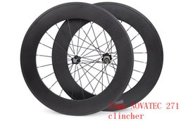 Wholesale-carbon road wheels 88 mm wheel width 23 mm carbon clincher 700C road bike wheels