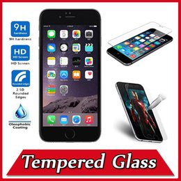 Wholesale 9H Explosion Premium Proof Tempered Glass Screen Protector Film Guard For iPhone S Plus Samsung J7 J710 A710 Note A9 A8 MOQ