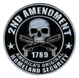 GPS-14 3.9 inch Wholesale embroidered Patches Homeland Security Armband Homeland Security Patch backing sew on patch garment accessorie