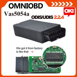 Wholesale Free Post A Quality VAS5054 with OKI Chip VAS A ODIS V2 Bluetooth Support UDS Protocol Full Chips Version