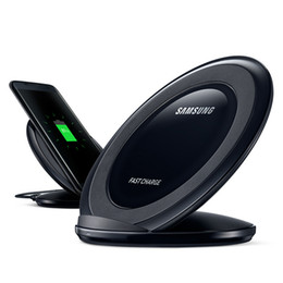Wholesale For Galaxy S7 Fast Charger Wireless Stand for Samsung Galaxy S7 edge S6 edge S6 edge Plus QI Wireless Quick Charging Dock up