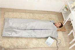 Wholesale SAFE and FAST Slimming Blanket Body Sauna FIR Far Infrared SAUNA BLANKET Sauna Bag SPA WEIGHT LOSS therapy detox machine