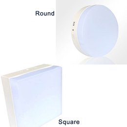 Surface Mounted LED Ceiling Light 6W 12W 18W 24W Square Round Modern Bedroom Decorative Bulb Lamp Down Lights Warm white Cool white CE ROSH