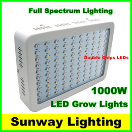 Wholesale 2016 W grow panel W Band Full Spectrum LED Grow Lights Red Blue White UV IR Led Plant Growing Lighting Lamps AC85 V