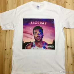 Wholesale Chance the Rapper Acid Rap Rock Music Band CD T Shirts Unisex CR1