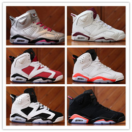 Wholesale Shop top fashion brands Basketball Shoe Vi Retro Men s Basketball Shoes Hot Selling Sport Sneakers For Men Women Size