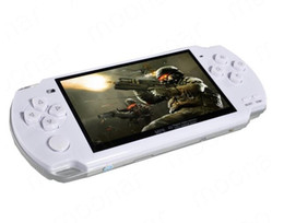 Wholesale 5 pieces per Hot Sale Time limited Inch Lcd Game Console Pmp Mp4 Mp5 Player gb free Games Media Av out fm with Ca