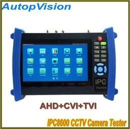 7 Inch Touch Screen Onvif IP Camera POE Power UTP Cable CCTV Tester Supply Video Record All in One AHD&CVI&TVI Camera Test