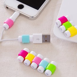 Wholesale Simple Design Protector for iPhone s S Plus iPAD iPOD Original Charger earphone Cable increase of service life