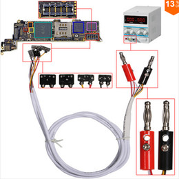 Wholesale Professional DC Power Supply Phone Current Test Cable for iPhone Plus G S S Repair Tools