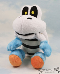 Wholesale Super Mario Bros Stuffed Animals - 1PCS Free Shipping Cute Super Mario Bros 15cm Plush Dry Bones Soft Toy Stuffed Animal